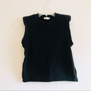 Silence noise urban outfitters black tank top xs